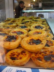 Pasteis de nata in Lisbon, Portugal