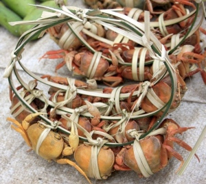 Luang Prabang Morning Market crabs_2