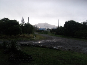 Volcano Baru in the rain photo by Jason Godfrey
