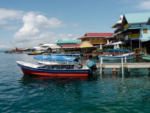 Bocas waterfront (TravelEater photo)