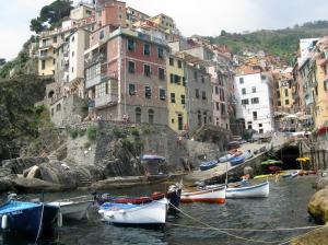 Riomaggiore, Cinque Terre (photo by RR Koops)