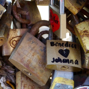 Paris love lock Johanna Read TravelEater.net