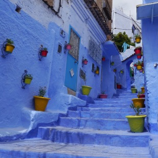 Chefchaouen blue city Morocco Johanna Read TravelEater.net