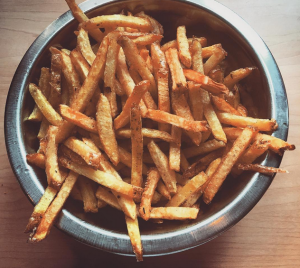 Another item checked off the bucket list: French fries in Idaho. Photo by Danielle Corcione.