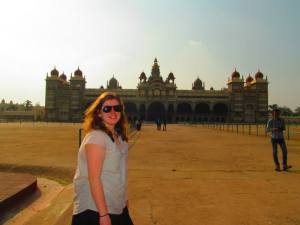 During my semester in Bangalore, India, I traveled to Mysore, Pondicherry, and Ooty. Pictured here is the Mystore Palace. Photo via Danielle Corcione.