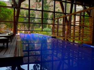 Tambo del Inka, at an ideal spot in the Sacred Valley, has this incredible pool.