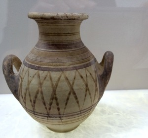 A 5th century amphora in Tunis's Bardo Museum