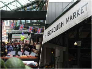 Scenes at Borough Market in London, UK, photo by Hilary Duff