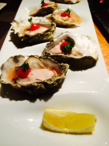 Oysters from Sidecut at The Four Seasons