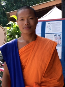 I helped this monk in Luang Prabang, Laos with his English at the literacy organization Big Brother Mouse. They're in need of cash donations and one of the few charities where you can effectively volunteer for just a few hours.