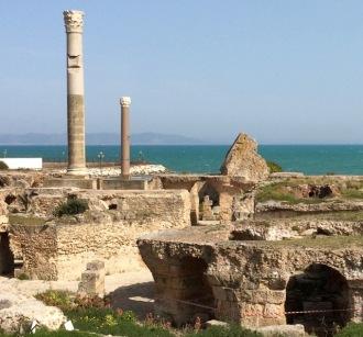 Antonin Imperial Baths Carthage Johanna Read TraveEater.net
