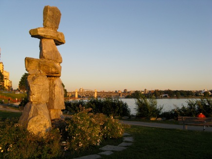inukshuk West End Vancouver Johanna Read TravelEater.net