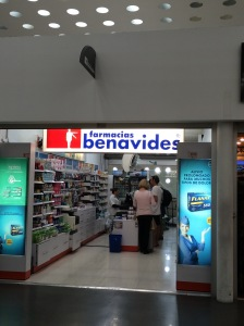 Cheapest place to buy water in MEX airport