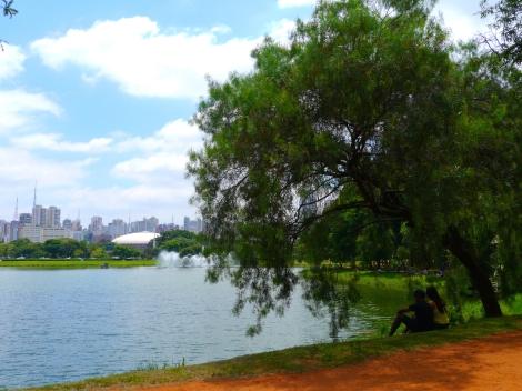 Parque Ibirapuera. Small photo by Johanna Read TravelEater.net
