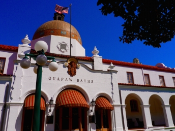 Quapaw Baths Hot Springs Arkansas. Low-res photo by Johanna Read TravelEater.net