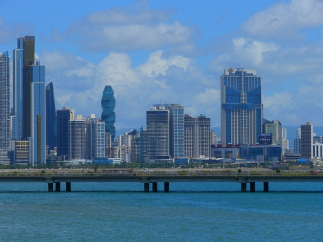 Panama City skyline. Photo by Johanna Read TravelEater.net